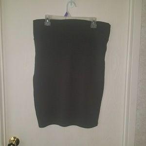 Lularoe slate grey cassie pencil skirt